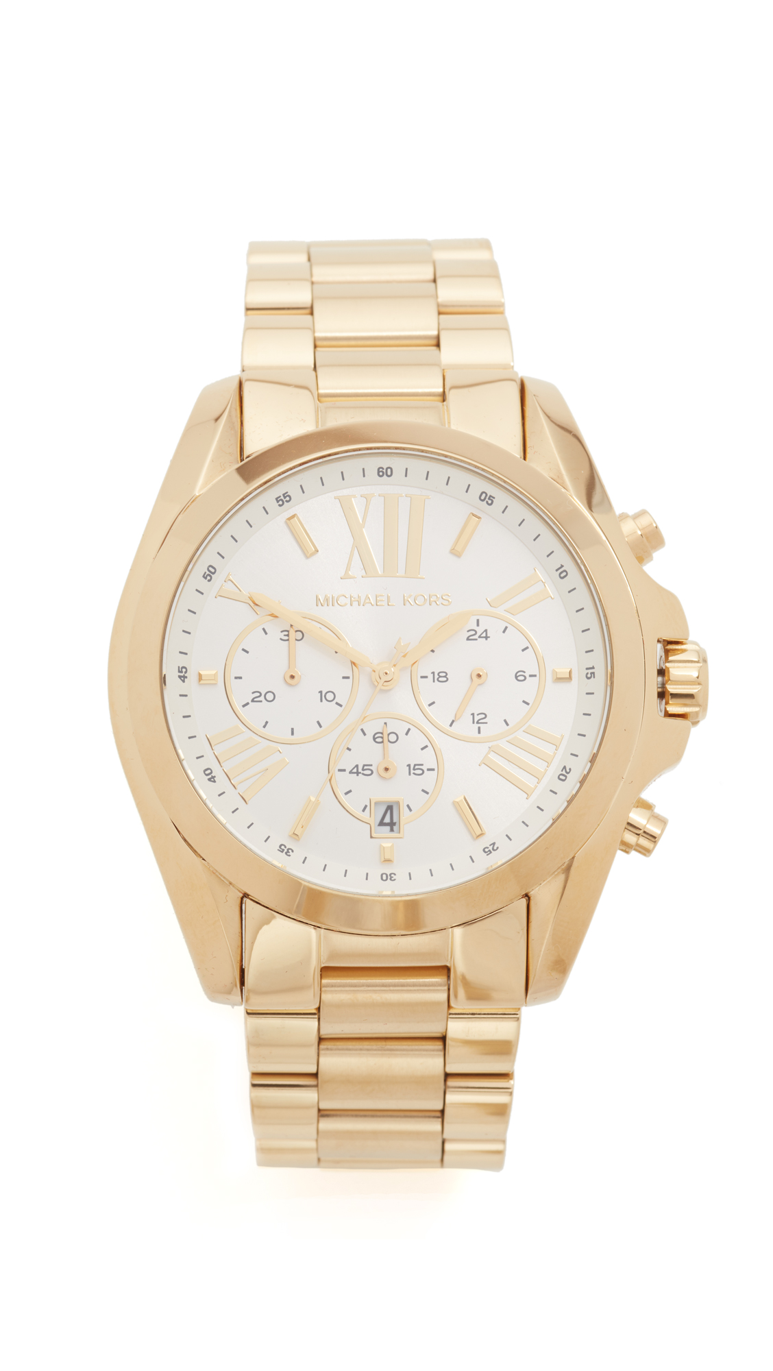 michael kors female michael kors bradshaw watch gold
