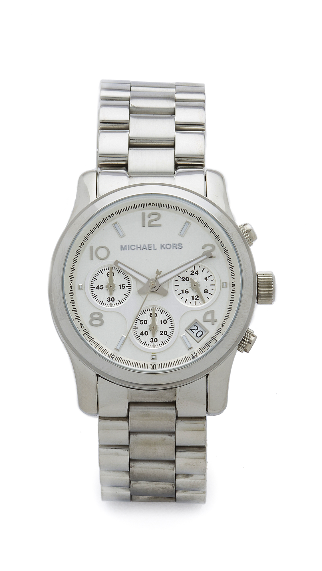 michael kors female michael kors sport watch silver