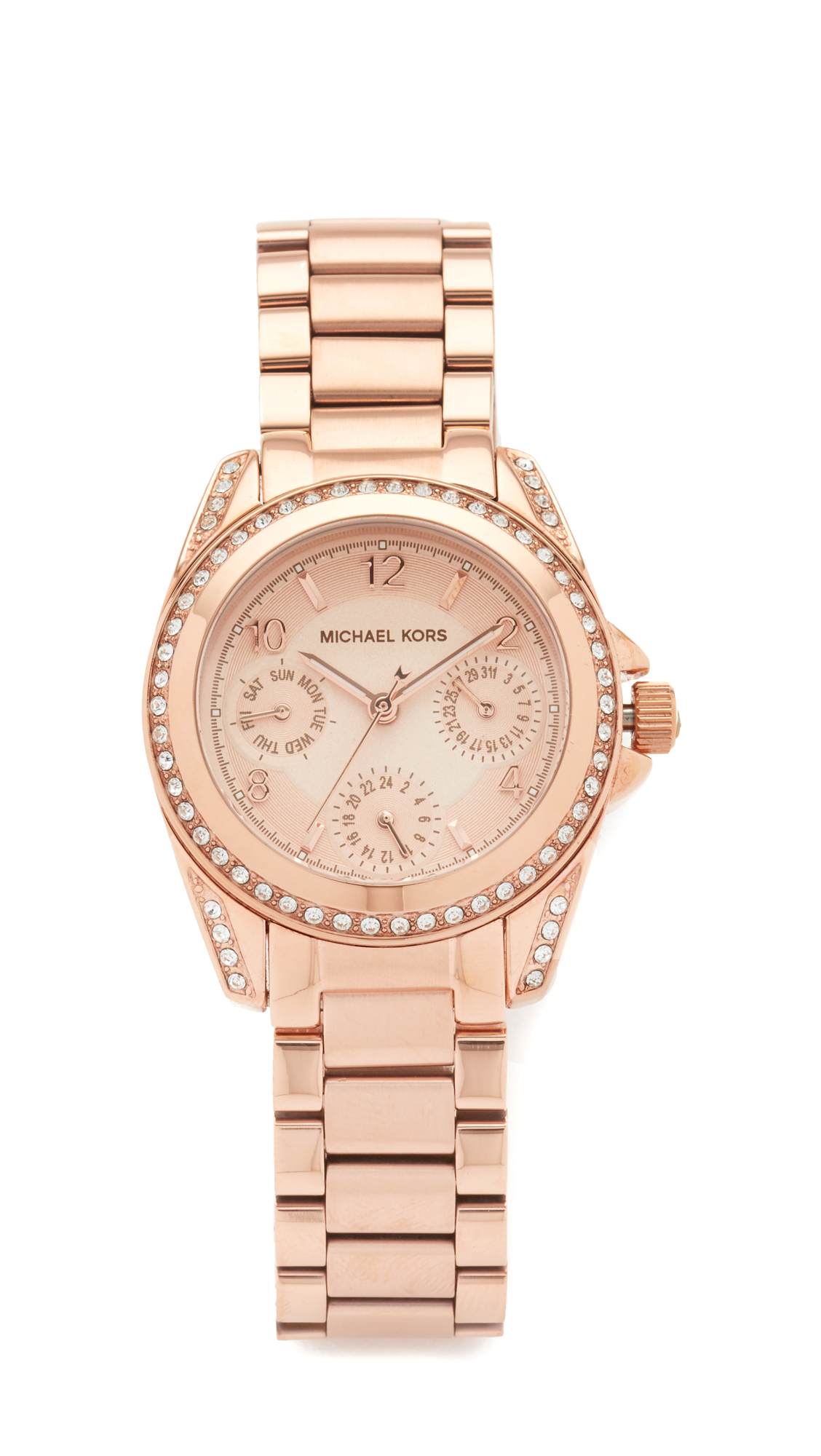 michael kors female michael kors blair watch rose gold