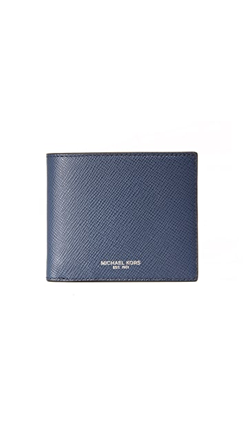 Michael Kors Harrison Leather Billfold