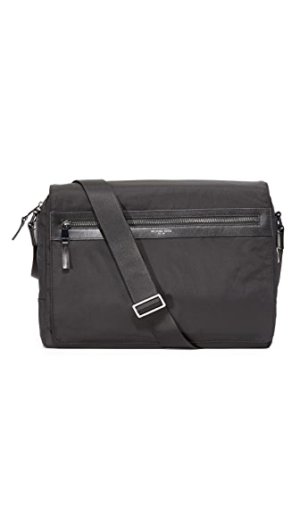 Michael Kors Kent Nylon Large Messenger Bag