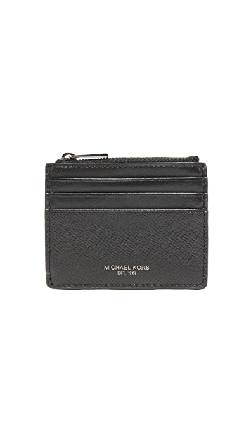 Michael Kors Harrison Tall Zip Card Case