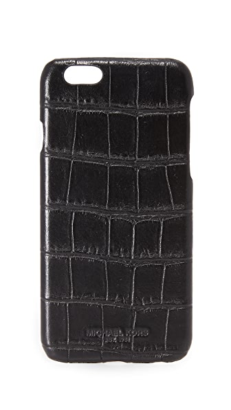 Michael Kors Embossed iPhone Case