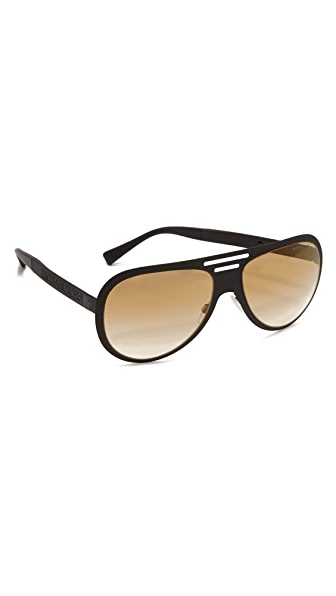 michael kors aviators h0tv  Michael Kors Signature Logo Aviators