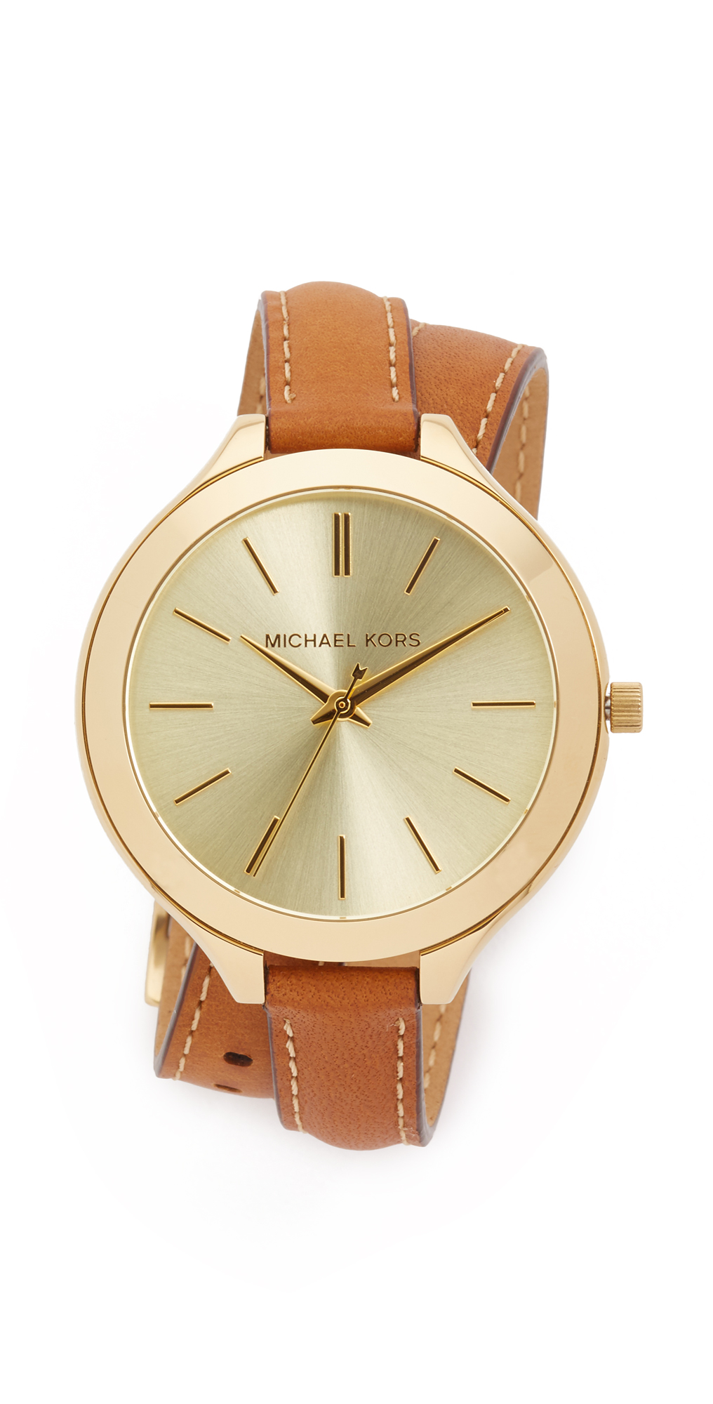 Slim Double Wrap Watch Michael Kors