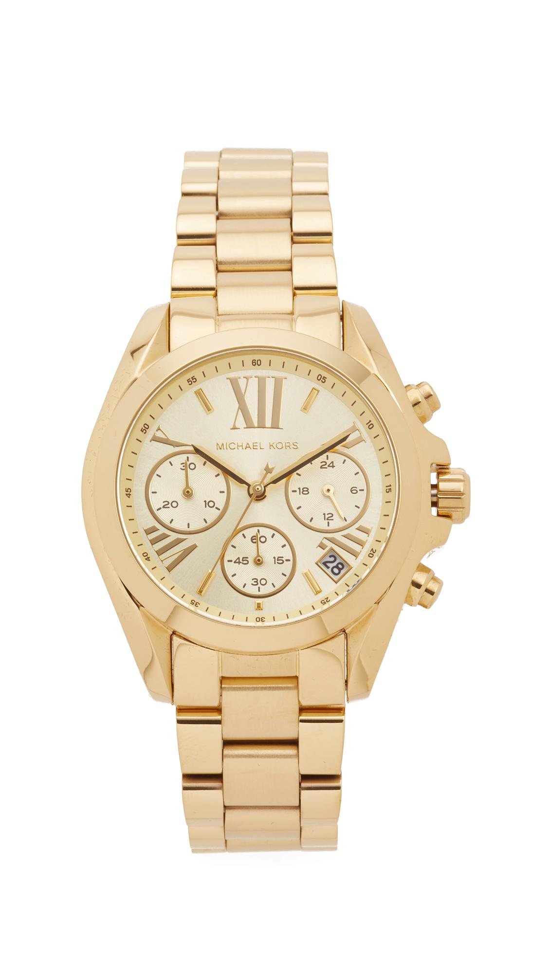 Michael Kors Bradshaw Watch - Gold