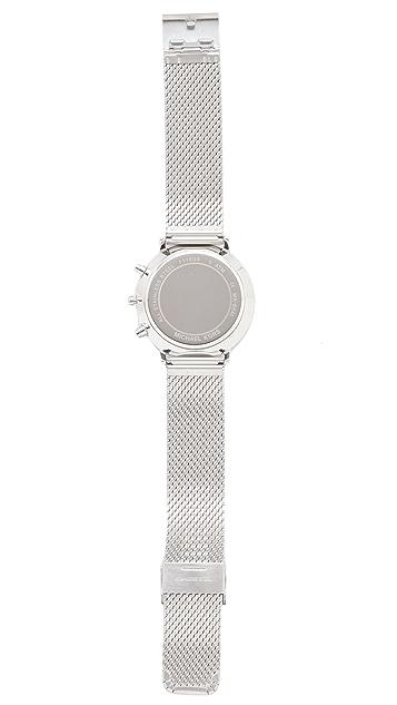 Michael Kors Jaryan Metal Mesh Chronograph Watch