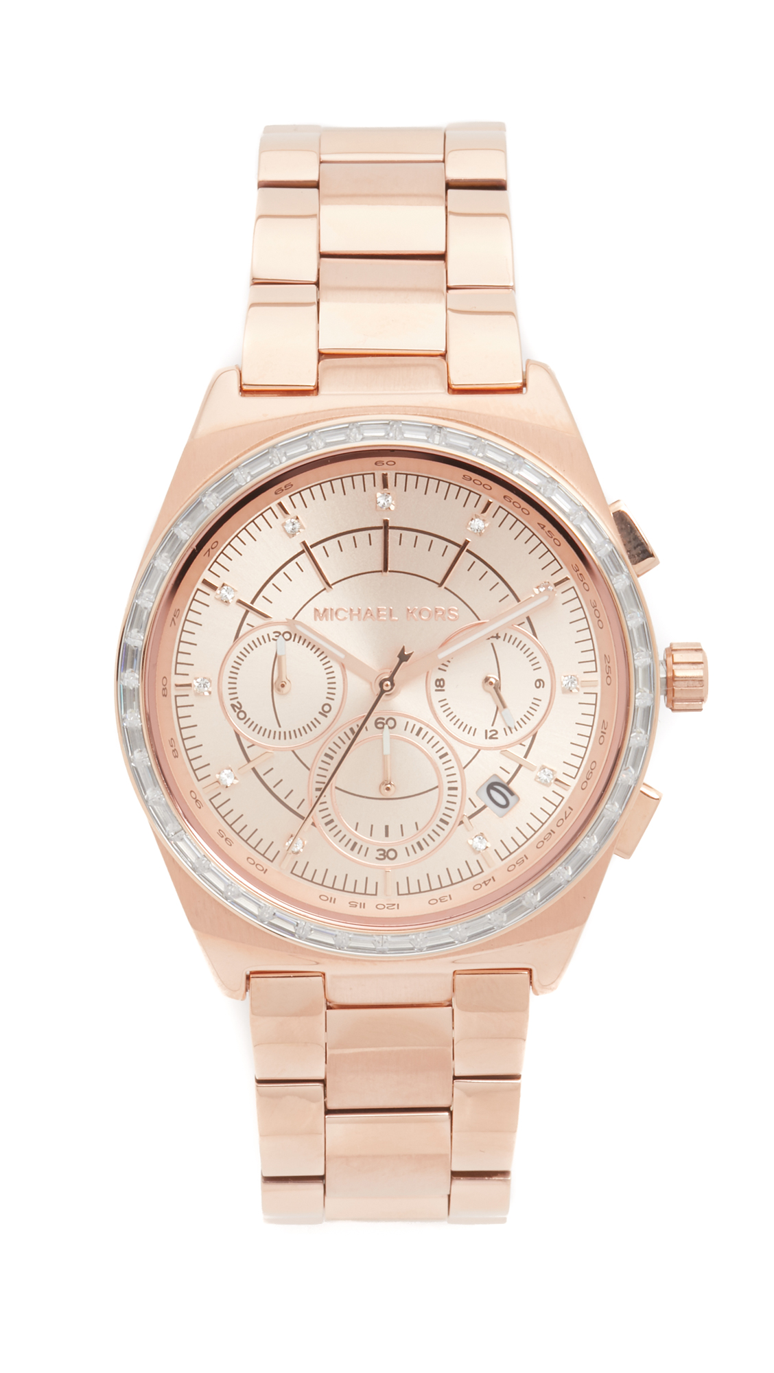 michael kors female michael kors vail watch rose gold
