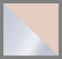 Silver/Blush