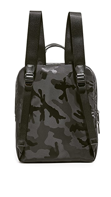 Michael Kors Kent Camo Nylon Medium Flight Backpack