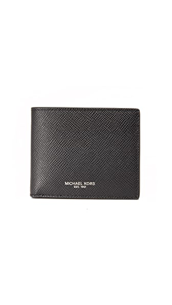 Michael Kors Harrison Leather Slim Billfold