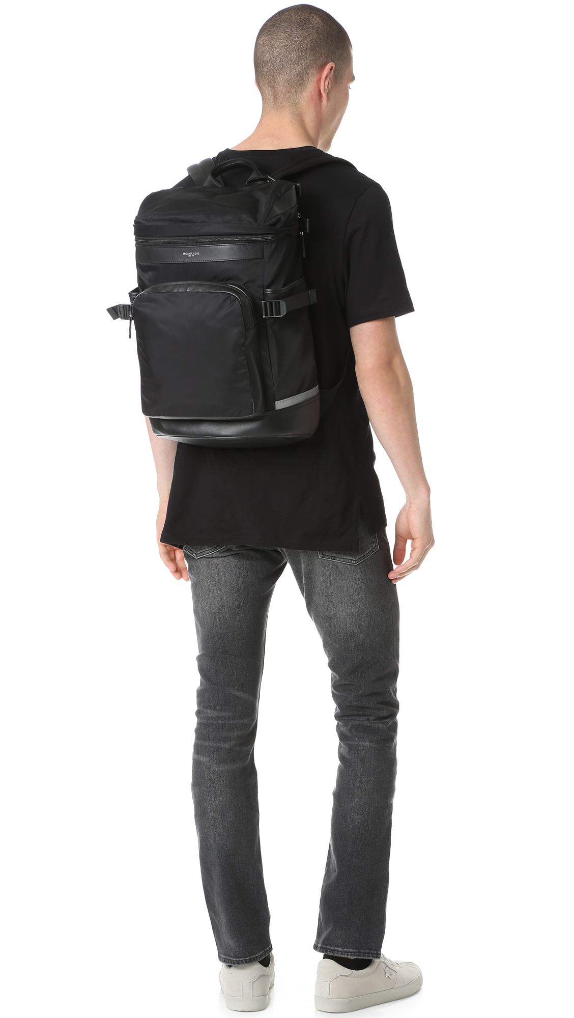 7e02fdb2676cf3 Michael Kors Kent Nylon Cycling Backpack | EAST DANE
