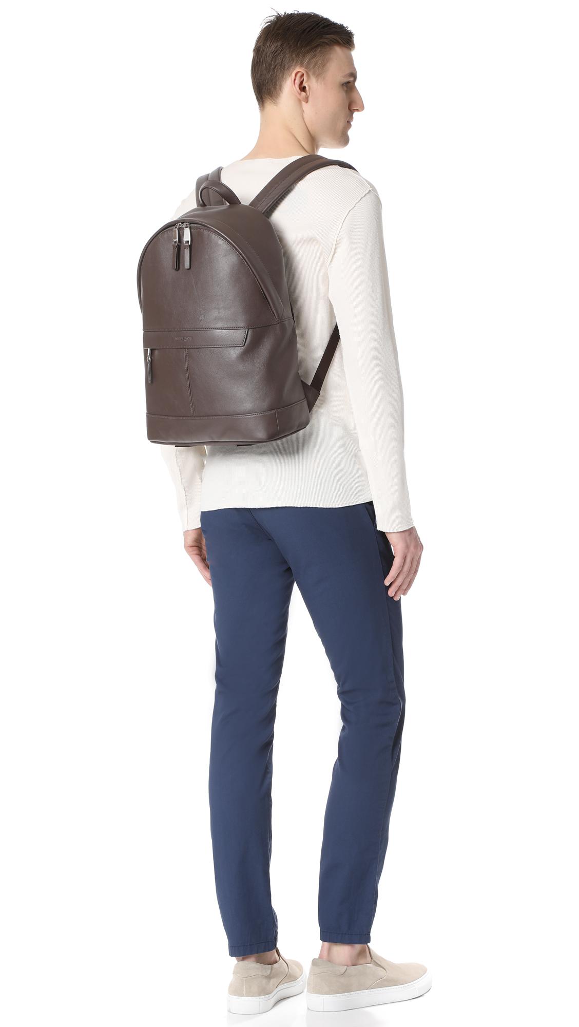 22d10ef1d8ab Michael Kors Odin Leather Backpack