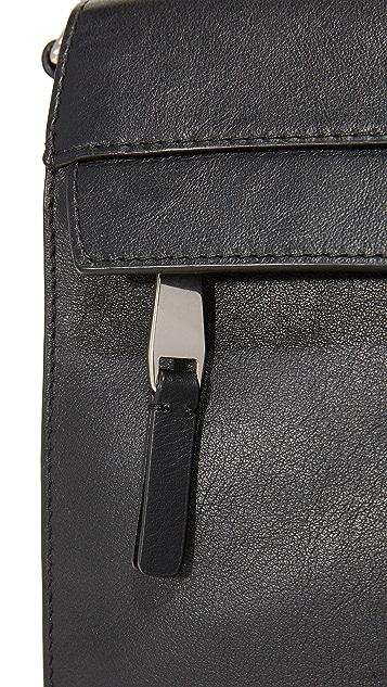 Michael Kors Odin Leather Large Messenger