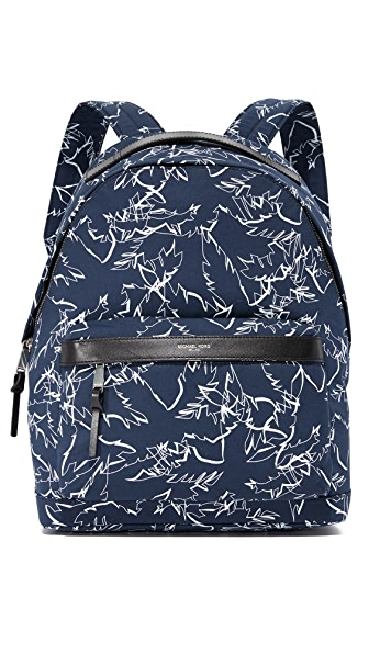 Michael Kors Grant Palm Print Backpack