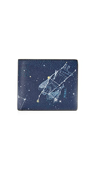 Michael Kors Virgo Leather Astrology Billfold