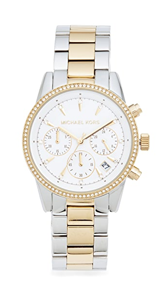 Michael Kors Ritz Watch - Silver/Gold