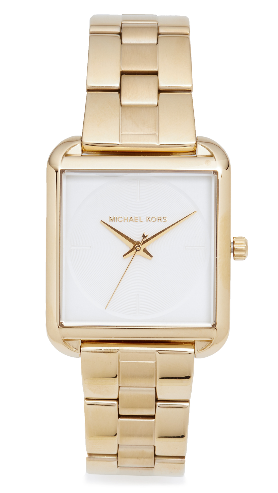 michael kors female michael kors lake watch gold