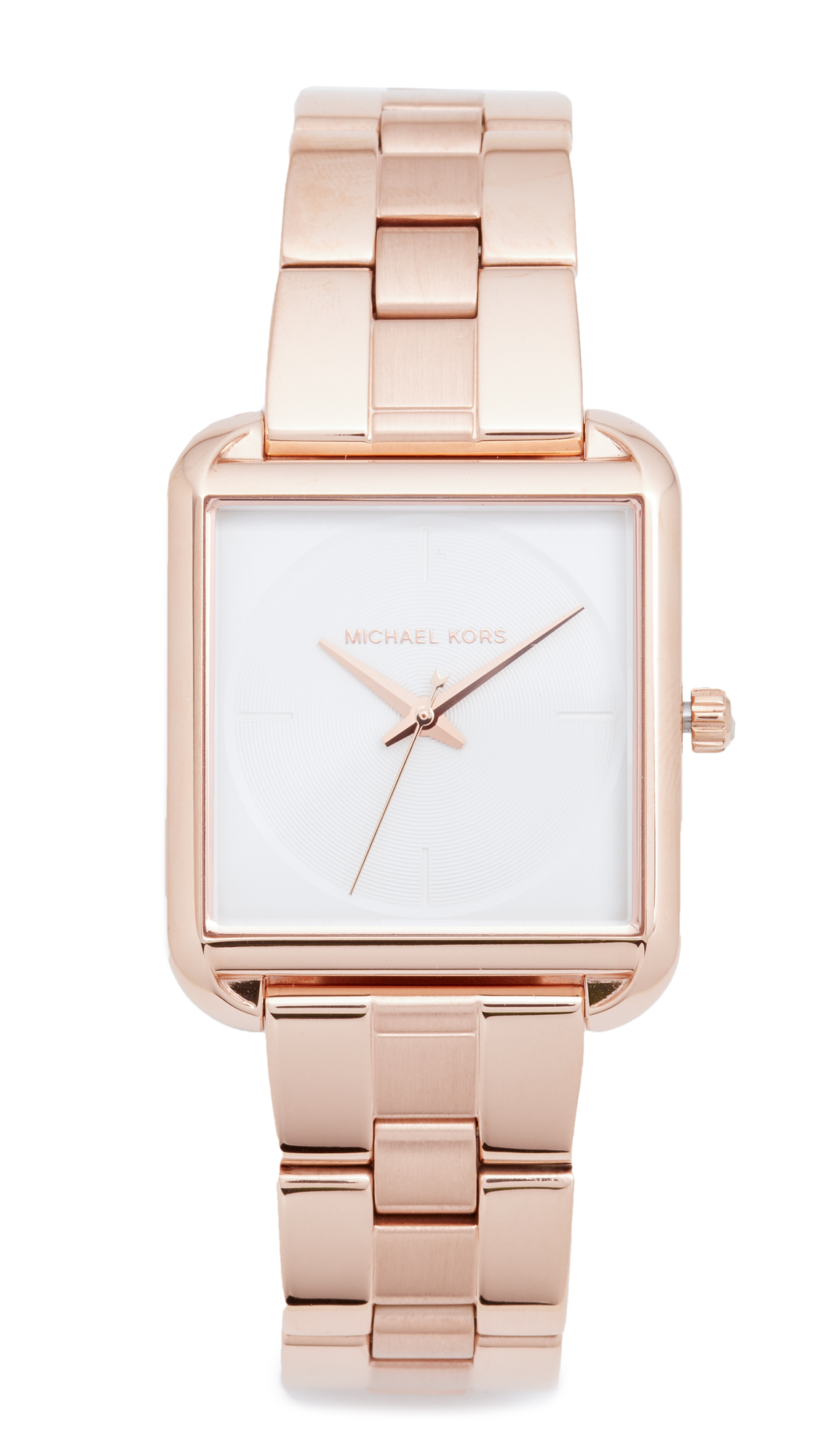 michael kors female michael kors lake watch rose gold