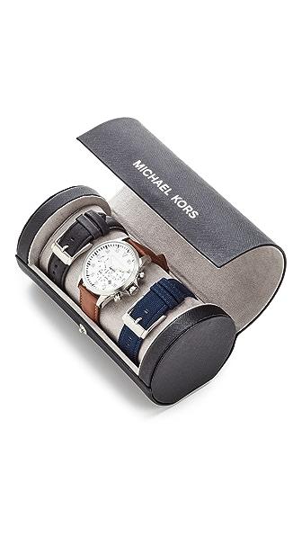 Michael Kors Gage Chronograph Box Set