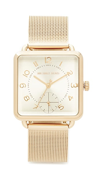 Michael Kors Brenner Watch - Gold