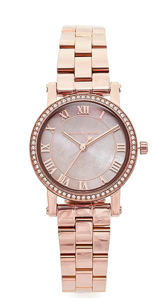 Michael Kors Petite Norie Watch - Sable/Rose Gold