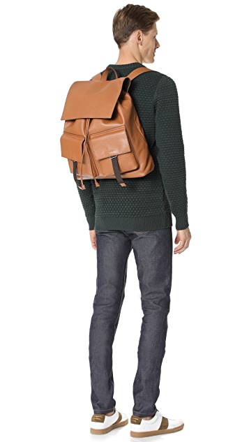 Michael Kors Johnny Leather Backpack