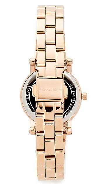 Michael Kors Миниатюрные часы Norie с циферблатом диаметром 28мм