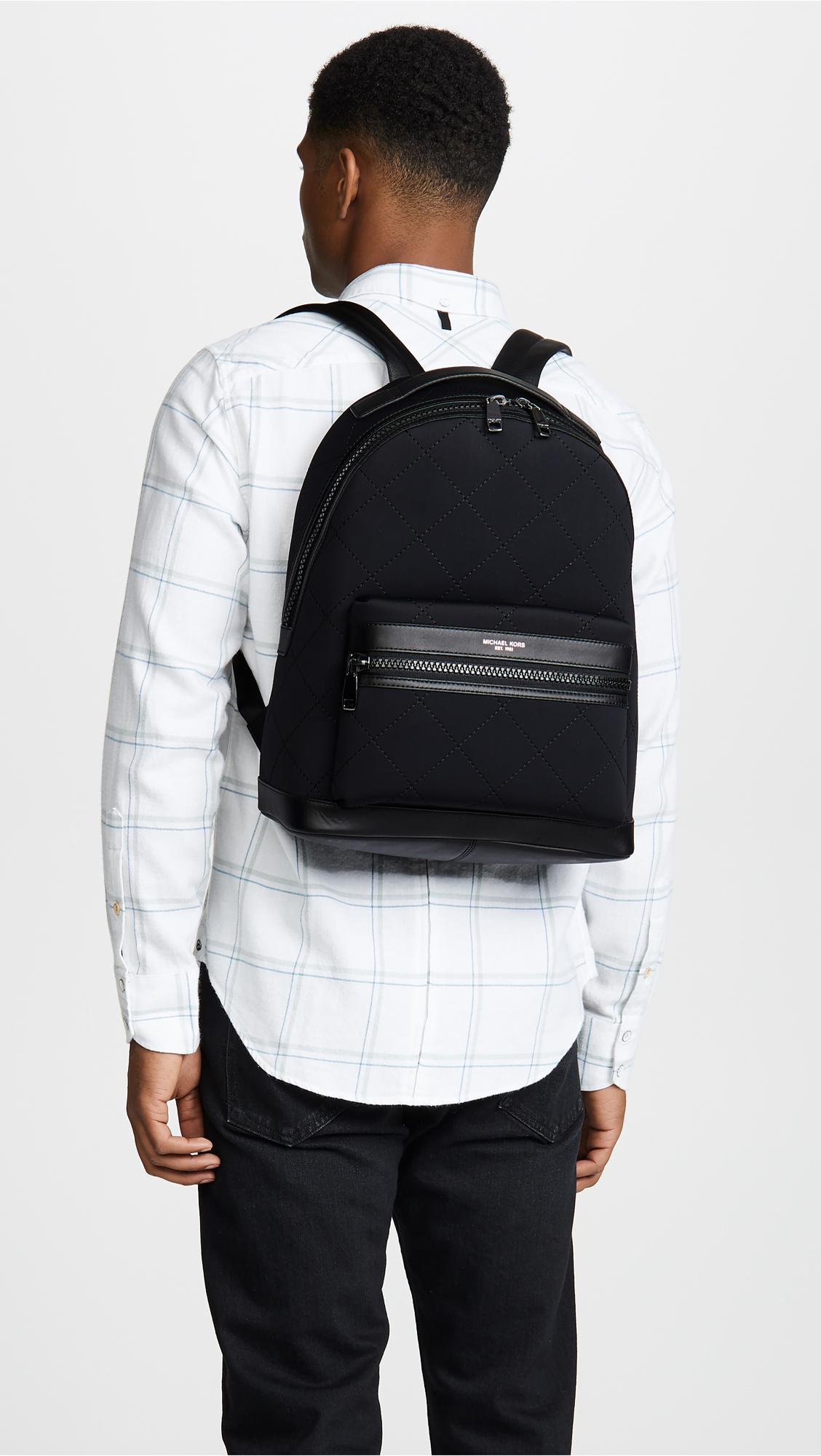 327a8e026b78 Michael Kors Odin Neoprene Backpack | EAST DANE