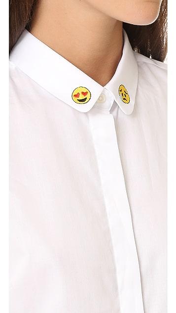 Maison Labiche Emoji Shirt