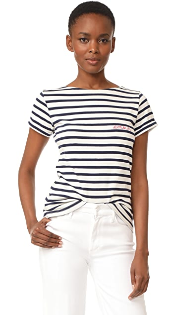 Maison Labiche Amour Striped Tee