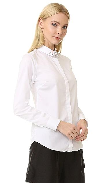 Maison Labiche Mains Button Down Shirt