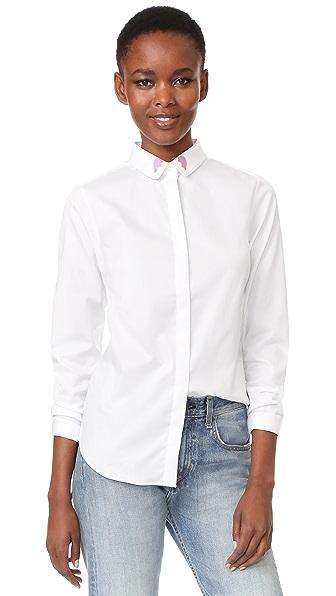 Maison Labiche Coeur Brise Button Down Shirt
