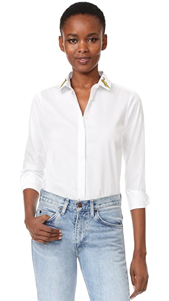 Maison Labiche Panthere Button Down Shirt