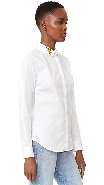 Maison Labiche Panthere Button Down Shirt