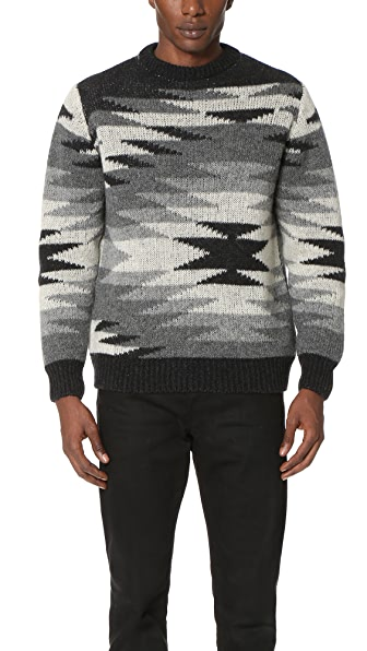 Monsieur Lacenaire Monsieur Lacenaire X White Mountaineering Native Sweater
