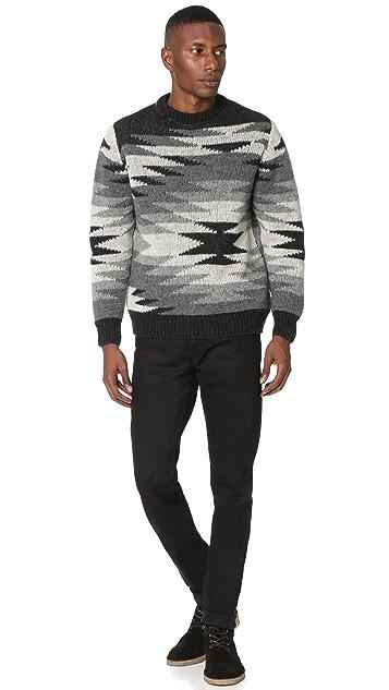 Monsieur Lacenaire Monsieur Lacenaire X White Mountaineering Native Sweater