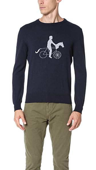 Monsieur Lacenaire Dandy Horse Sweater