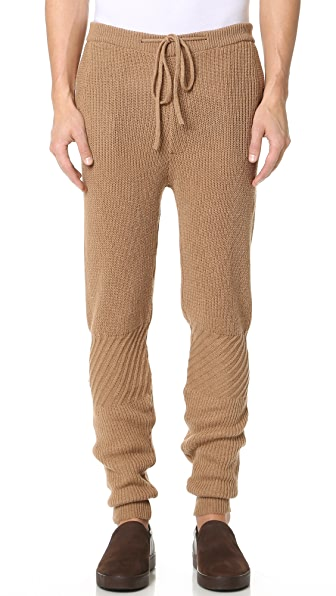 Monsieur Lacenaire Patchwork Knit Pants