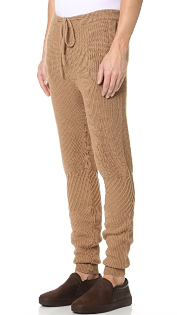 Monsieur Lacenaire Patchwork Knit Pants