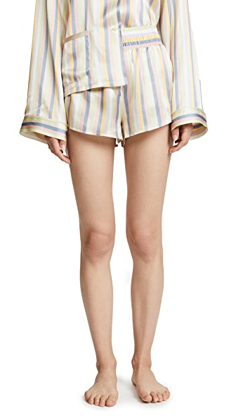 Morgan Lane Corey Shorts In Sorbet Stripe