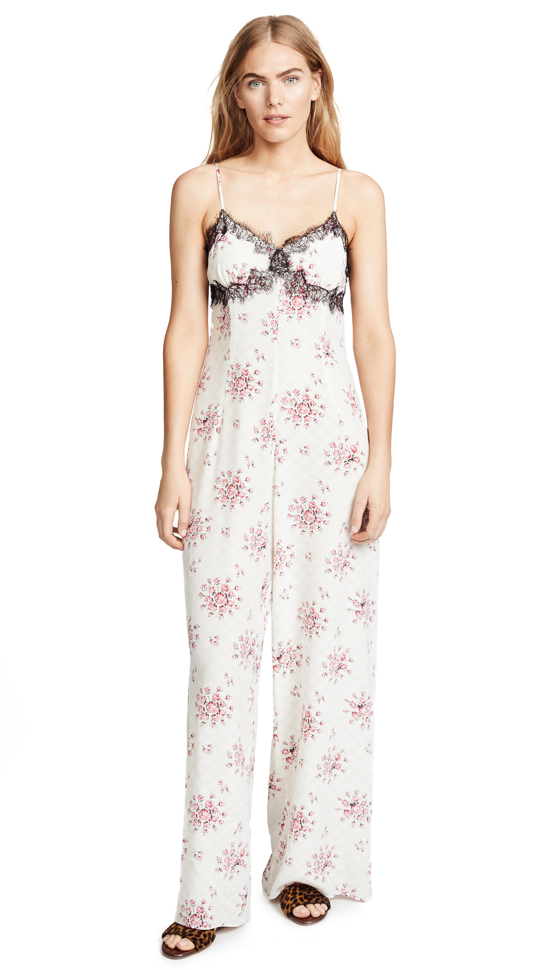 Bambi Jumpsuit in White