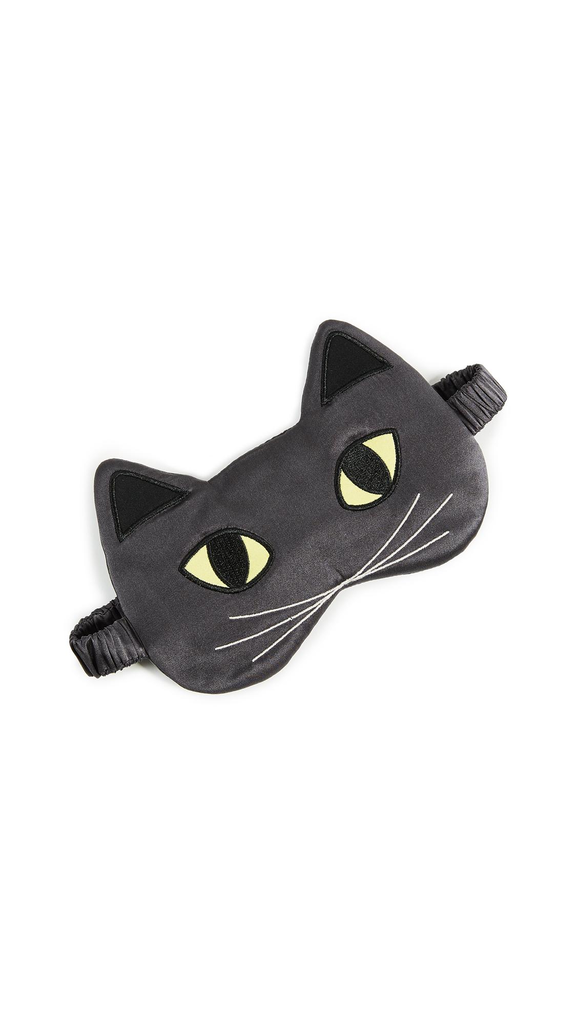 Morgan Lane Cat Mask In Deep Grey