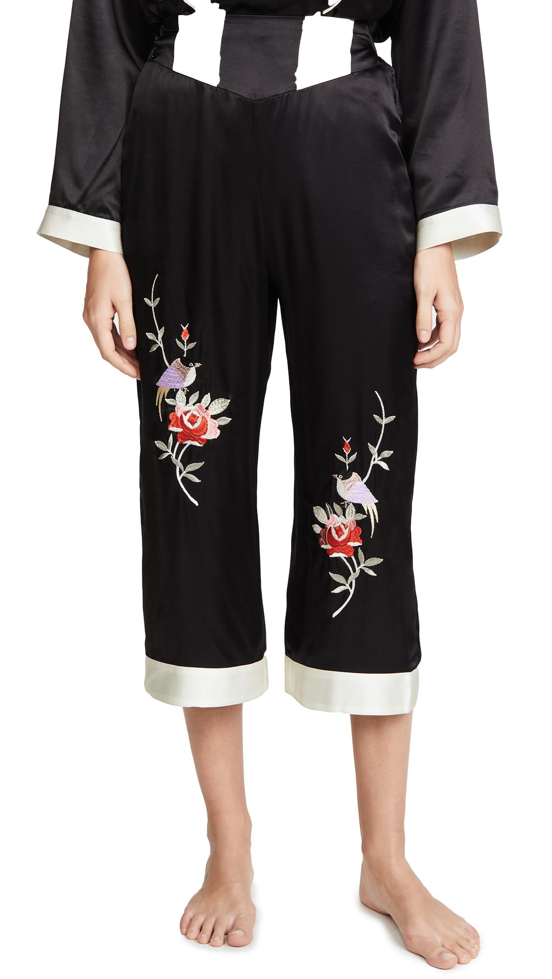 Buy Morgan Lane online - photo of Morgan Lane Olive PJ Pants