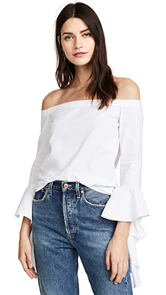 MLM LABEL Essential Top In White