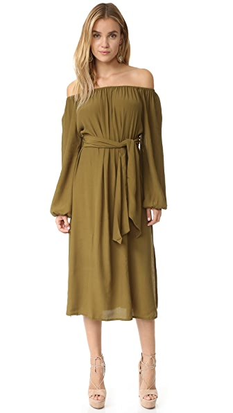 MLM LABEL Dash Midi Dress