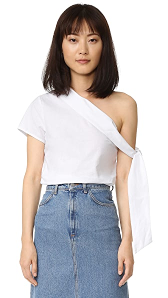 Asymmetrical Tie Top