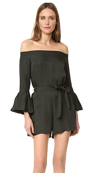 MLM LABEL Haze One Shoulder Romper