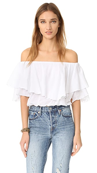 MLM LABEL Maison Crop Top