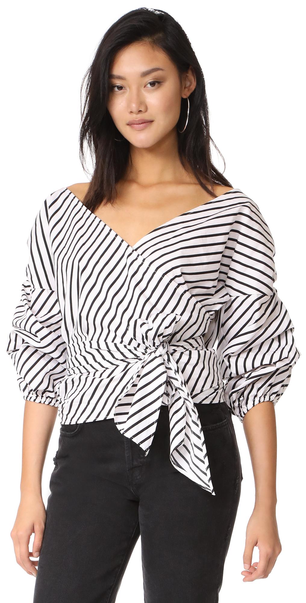 Salo Wrap Shirt MLM LABEL